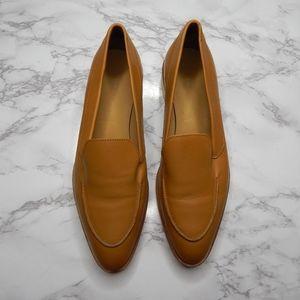 Everlane Womens The Modern Loafer Camel Sz 8